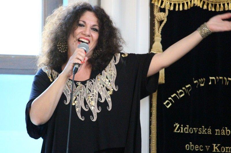 Klein Judit és barátai koncertje remek hangulatú volt, különleges légkört teremtett a zsinagógában (Fotó: Szalai Erika/Felvidek.ma)