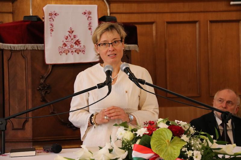 Hahn Seidl Alida, a Hunnia Baráti Kör alapító tagja (Fotó: Szinek János/Felvidék.ma)