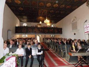 Megtelt a templom (Fotó: Homoly Erzsó/Felvidék.ma)