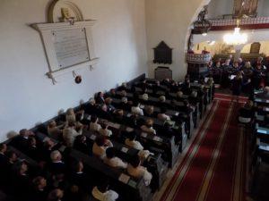 A gyülekezet (Fotó: Homoly Erzsó/Felvidék.ma)