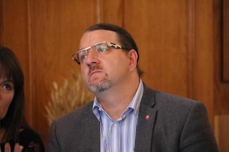 Branislav Skrípek EP-képviselő is a résztvevők között volt (Fotó: Szinek János/Felvidék.ma)
