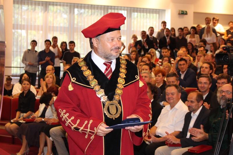 Tóth János rektor (Fotó: Szalai Erika)