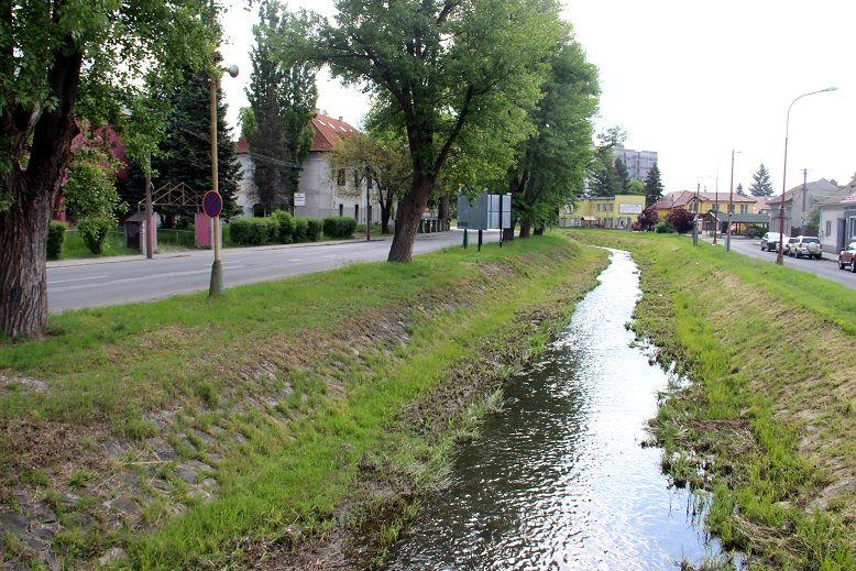 A Tugári-patak. (Fotó: Balassa Zoltán/Felvidék.ma)
