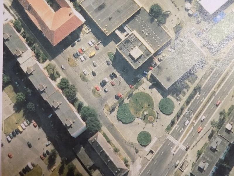 Az öt zöld-grupp helyén lesz az emlékpark