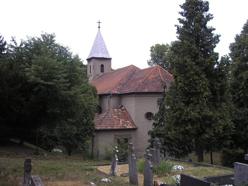 A Viszoljaszky Károly idejében felszentelt alsószemerédi templom. (Fotó: Balázs Vendel)