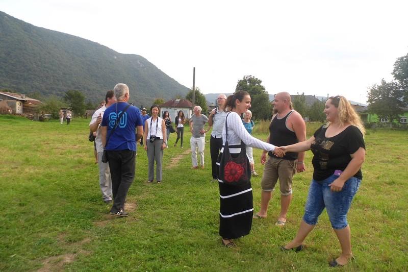 A szalóci programra németországi lelkészek is érkeztek,a képen Tóth Zsuzsanna, a Szlovákiai Református Keresztyén Egyház lévitája (Fotó: BB)