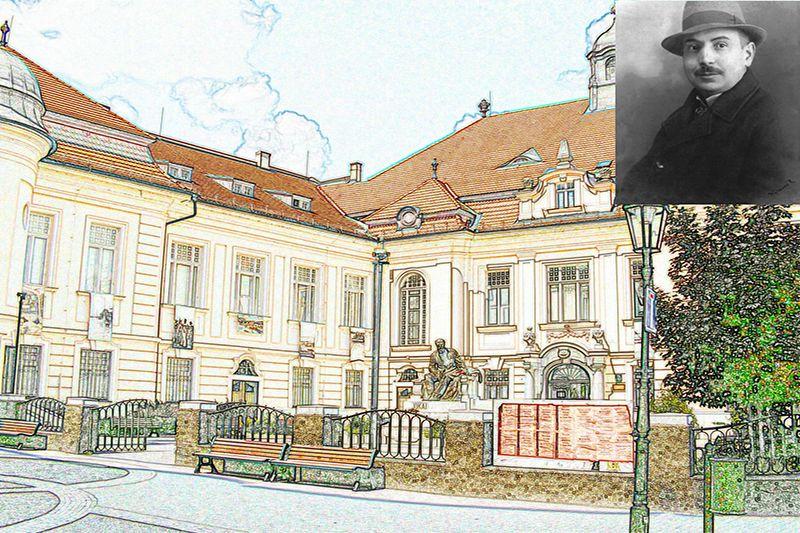 A komáromi Kultúrpalota épülete. (Fotó: Németh István archívuma)