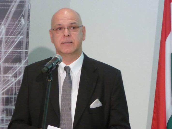 Csiba Péter, az MVM Magyar Villamos Művek Zrt. elnök-vezérigazgatója (Fotó: With Jenő)