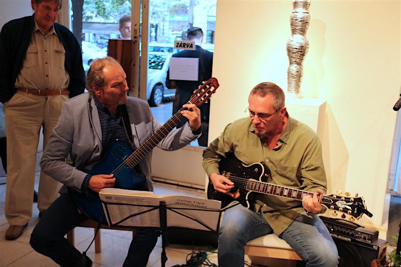 East2East gitárduó (Eichinger Tibor, Kéri Gábor) (Fotó: Szinek János)