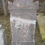 Evangélikus sírkő (Szekeres János) a temetőből (Fotó: CSK)