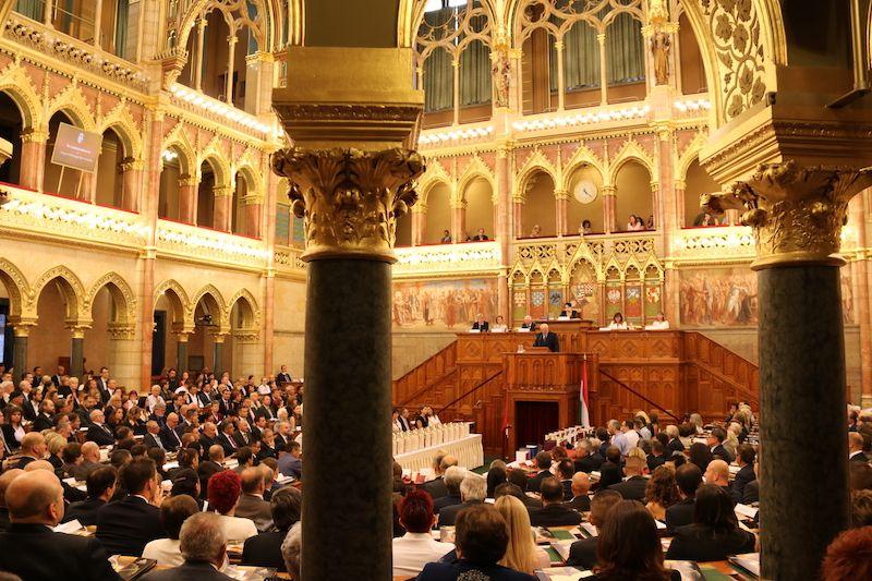 A díjakat az Országgyűlés Felsőházi termében adták át (Fotó: Szinek János/Felvidék.ma)