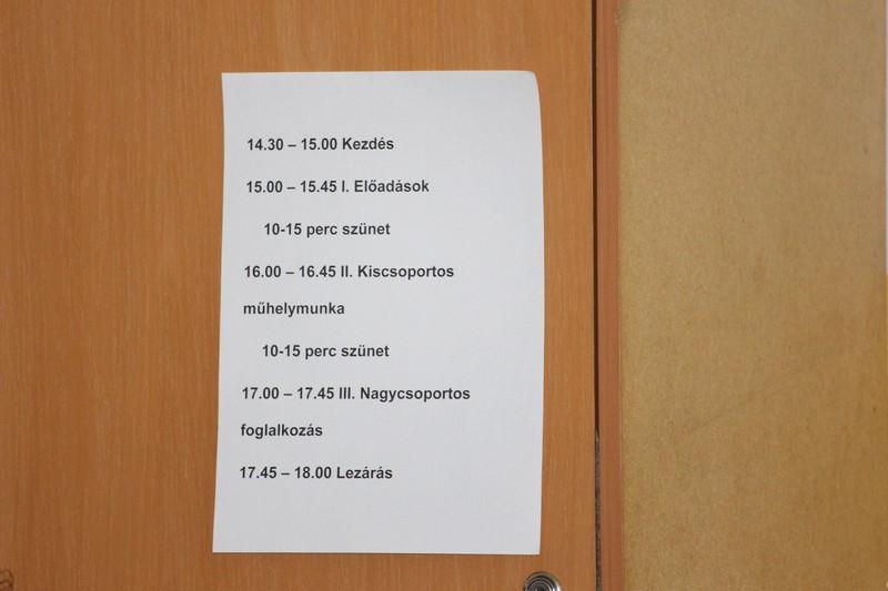 A tréning felépítése. (Fotó: Szalai Erika/Felvidék.ma)