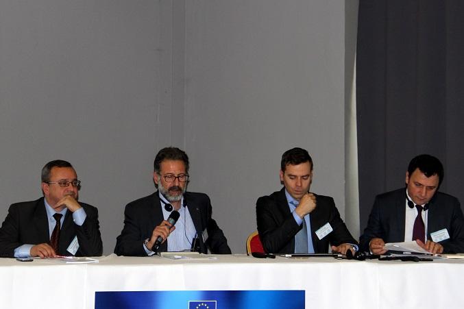 Alexander Duleba, Martin Guillermo-Ramírez, Jussi P. Laine, Mehmet Hacisalihoglu (Fotó: BZ)