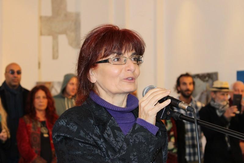 Nagy T.Katalin művészettörténész nyitotta meg a szimpóziumot (Fotó: Szalai Erika/Felvidék.ma)