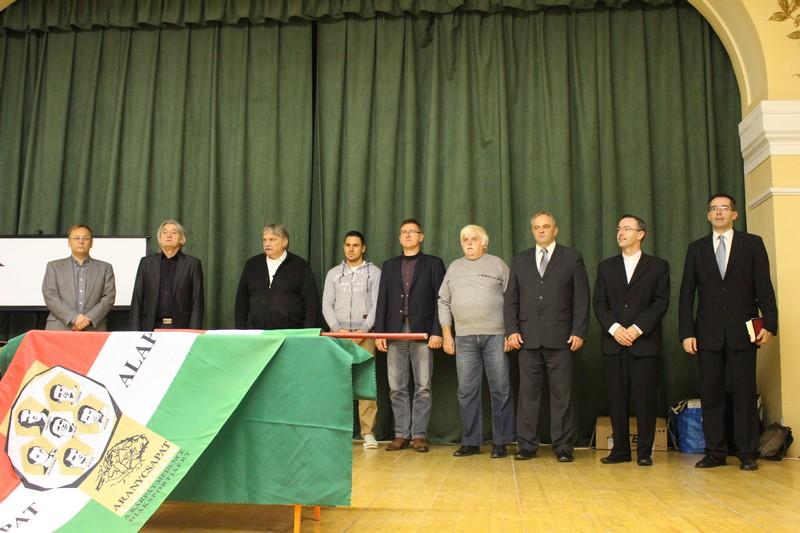 A megnyitón (Fotó: Szalai Erika/Felvidék.ma)
