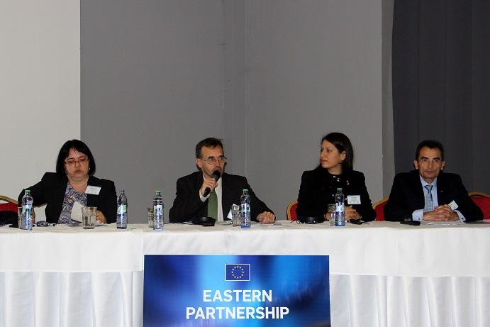 N. Rózsa Erzsébet, Ocskay Gyula, Claudia Singer, Alekszej Kirjuchin (Fotó: BZ)