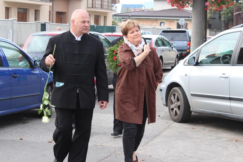 Szili Katalin miniszterelnöki megbízott is jelen volt az ünnepségen (Fotó: Neszméri Tünde/Felvidék.ma)