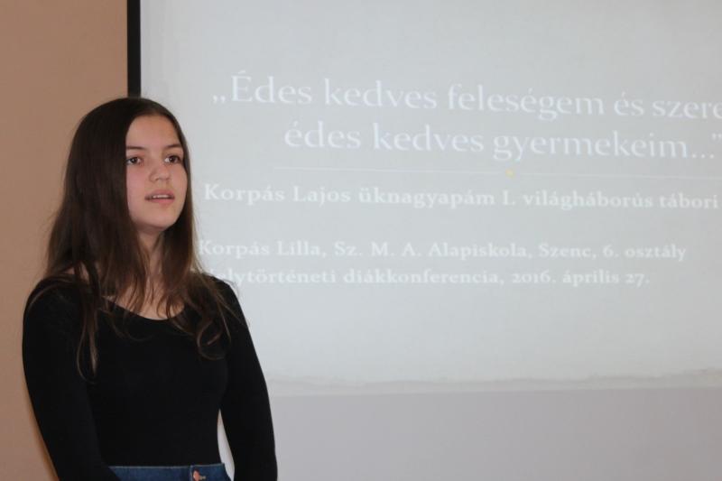 Korpás Lilla (Fotó: a szerző)