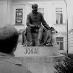 Illyés Gyula: Haza, a magasban. Borsó Ákos forgatókönyvíró, főszereplő (Fotó: archívum)