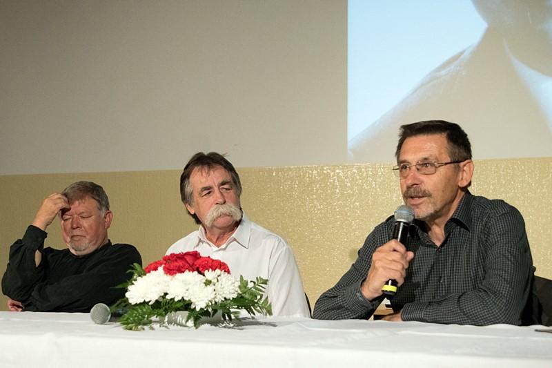 Mészáros András, Reicher Gellért és Németh Istvan (Fotó: a szerző)