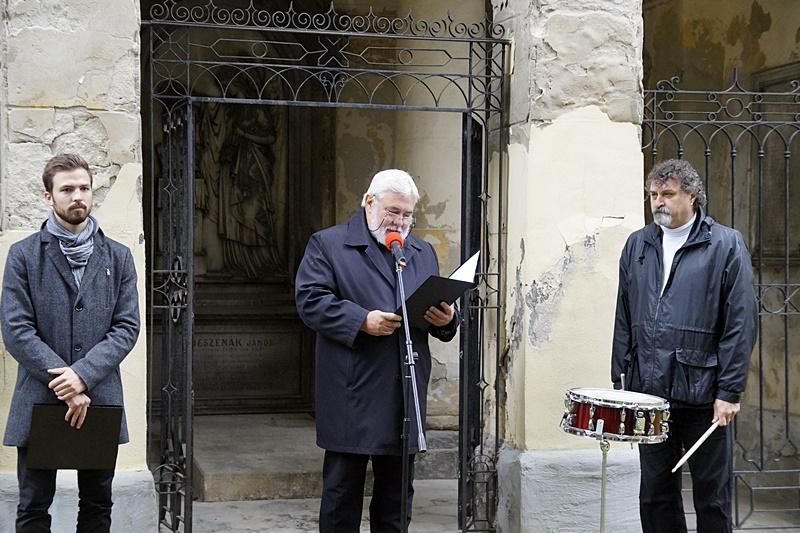 Dér Márton, Molnár Imre és Streiženec Sándor (Fotó: Hideghéthy Andrea/Felvidék.ma)