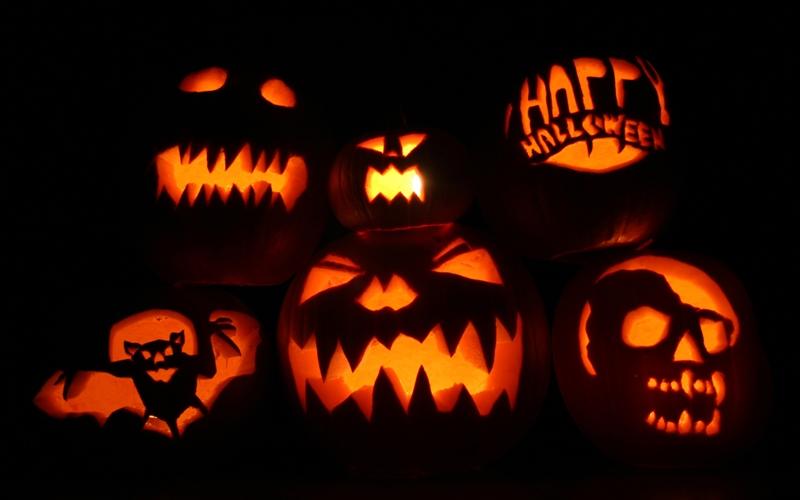 Halloween-i töklámpások (fotó: archívum)