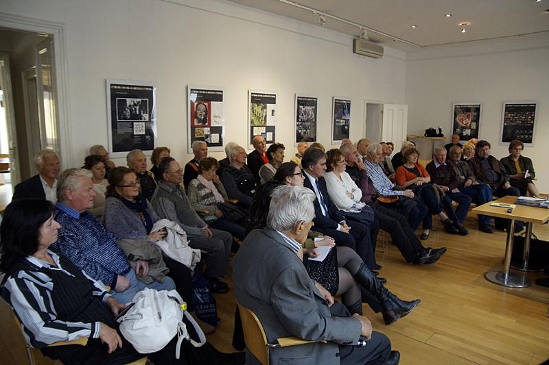 Sokan voltak kíváncsiak Deák Ernő előadására (Fotó: Hideghéthy Andrea/Felvidék.ma)
