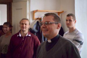 Balga Zoltán atya, a prágai katolikus magyar hívek lelki vezetője (Fotó: Prágai Magyar Katolikus Lelkészség)