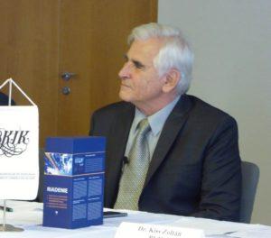 Štefan Kassay professzor a kötet szerzője (Fotó: WJ)