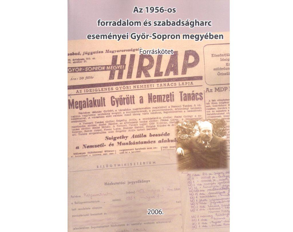 Forradalmi győri újság (Fotó: BL archívuma)