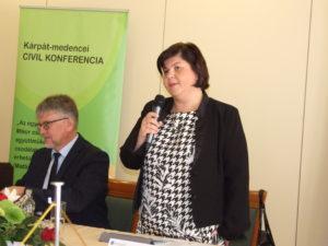Mihályi Erzsébet( Fotó: Szegedy László/Felvidék.ma)