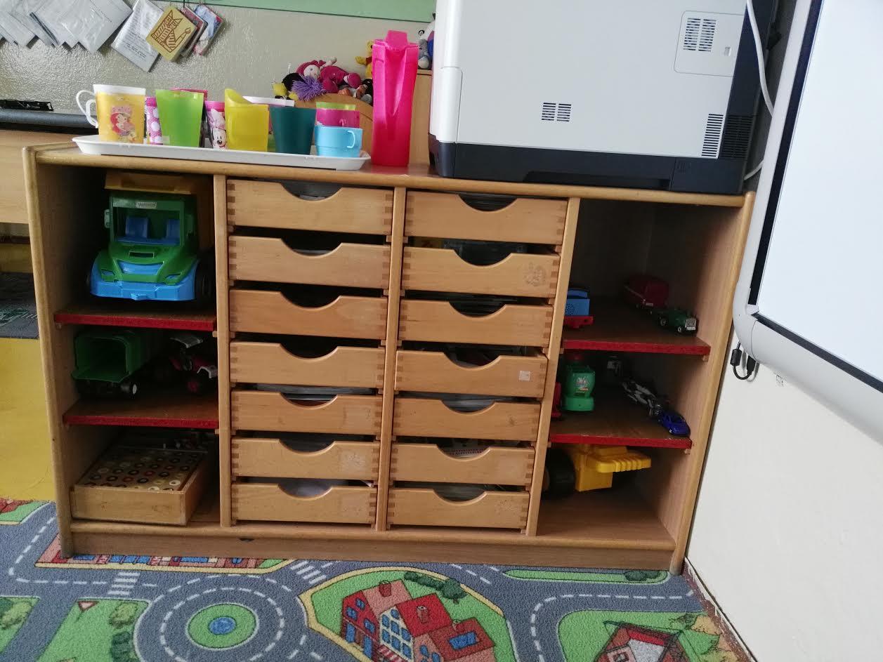 Megújult az iskola bútorzata is. (Fotó: Beke Beáta/Felvidék.ma)