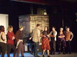 Pesti srácok a színpadon (Fotó: Szegedy László/Felvidék.ma)