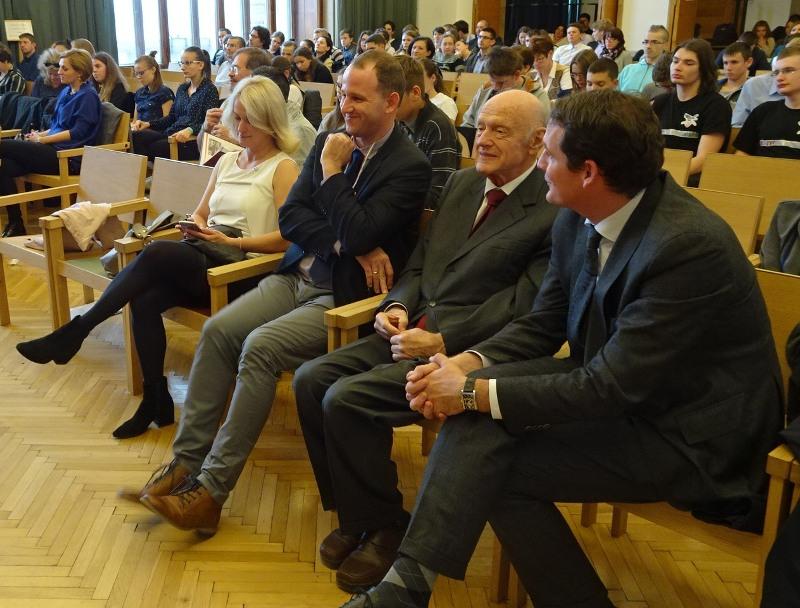 A Rákóczi Szövetség vezetése (Fotó: a szerző)