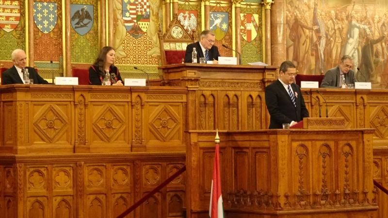 Szentmártoni János, a Magyar Írószövetség elnöke (Fotó: Gecse Géza/Felvidék.ma)