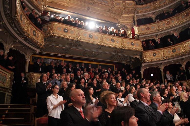 A hálás közönség (fotó: Balassa Zoltán/Felvidék.ma)