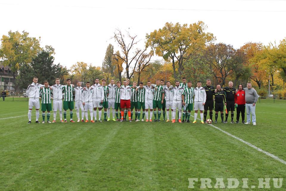 A két csapat (Fotó: fradi.hu)