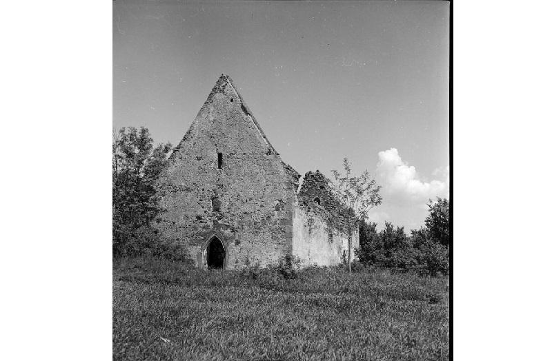 A templomrom 1940-ben. Fotó: a Palóc Múzeum archívuma