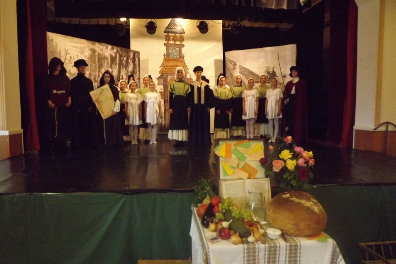 Az Oroszlányi Balettintézet növendékei (Fotó: Miriák Ferenc/Felvidék.ma)