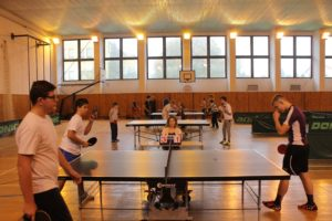 Asztaliteniszben is megméretették magukat a diákok (fotó: szentpéteri alapiskola)