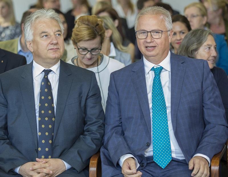 Semjén Zsolt és Trócsányi László (Fotó: MTI)