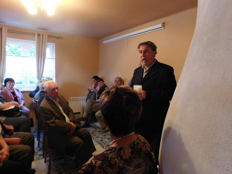 Kun Ferencz, a Rákóczi Szövetség alapítója ezúttal is örömmel fogadta el a meghívást (Fotó: Homoly Erzsó/Felvidék.ma)