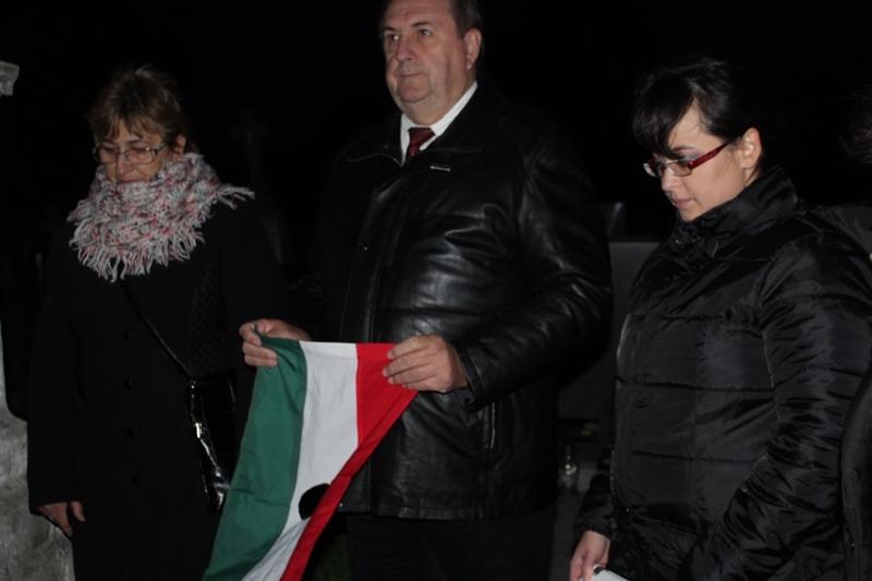 Duray Rezső, az MKP járási elnöke és Neszméri Tünde alpolgármester