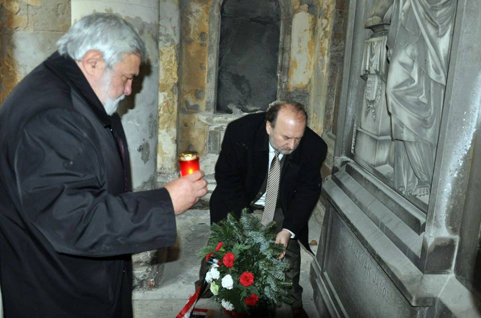 Molnár Imre és Szabó József emlékezik (Fotó: Oriskó Norbert)