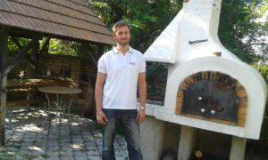 Gábor a népi hagyományok nagy tisztelője (Fotó: a szerző)