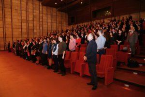 A Szlovák Rádió koncertterme megtelt érdeklődővel (Fotó: Virágh Mária)