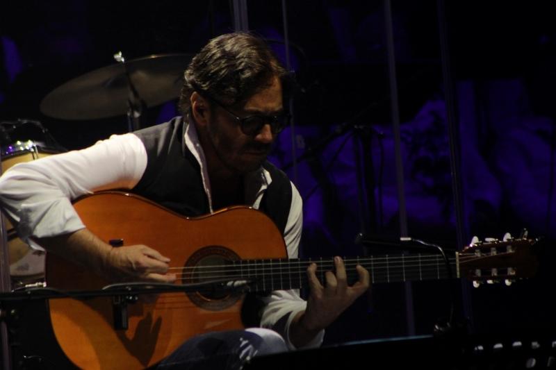 A világ legjobb gitárosai közt számon tartott Al di Meola Szarka Tamással zenélt és nyújtott felejthetetlen élményt (Fotó: Temesvári Gergely)