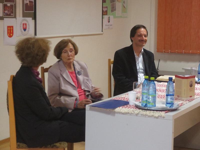 Tarjányi Eszter, T. Erdélyi Ilona és Csőrsz Rumen István (Fotó: VT) (Fotó: VT)