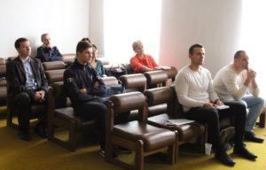 A hallgatóság egy része az ipolysági városházán (Fotó: Pásztor Péter)