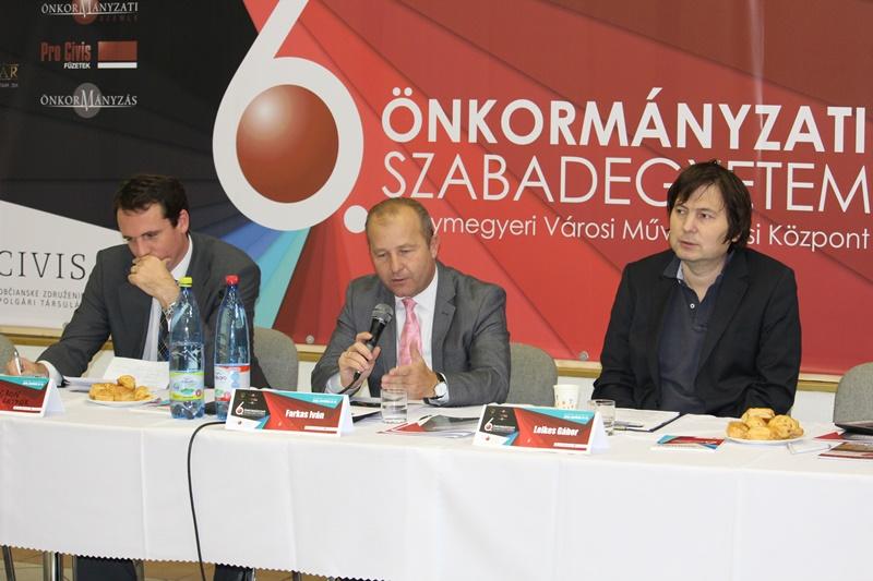 Ugron Gáspár, Farkas Iván és Lelkes Gábor (Fotó: Neszméri Tünde/Felvidék.ma)